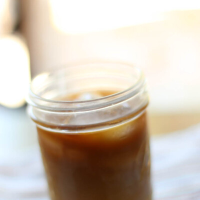 Easy-Peasy Iced Coffee