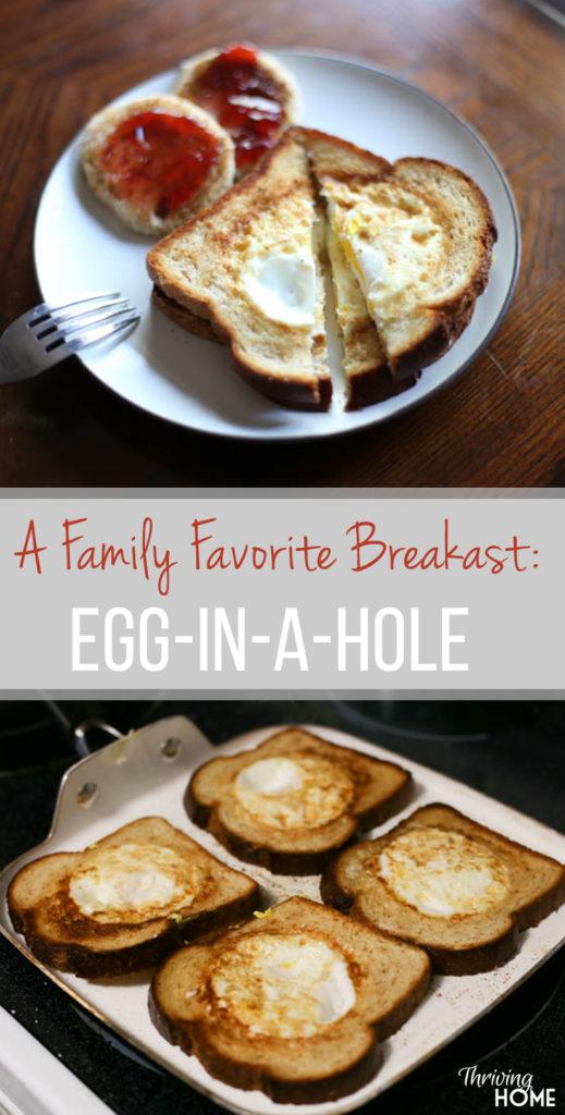 Egg in a Hole: A Classic Breakfast Recipe