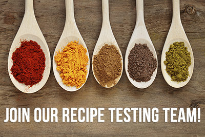 Join Our Recipe Testing Team