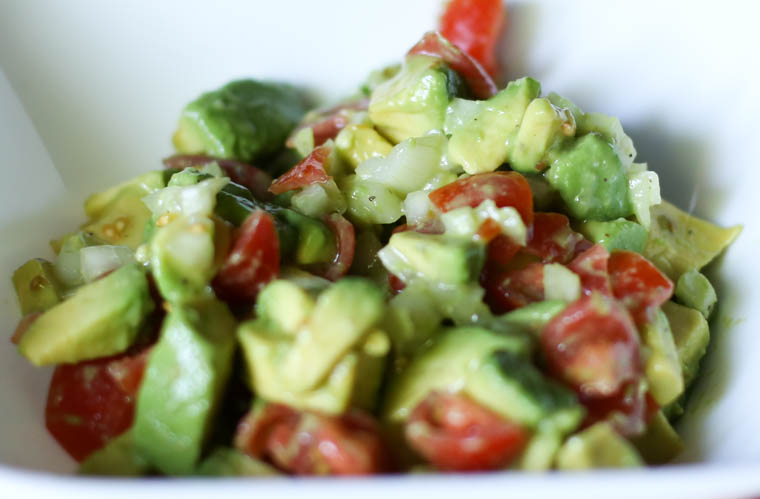 Fresh and zesty avocado lime salsa. Such a great appetizer or side dish for any Mexican entree. Only takes a few minutes to make too!
