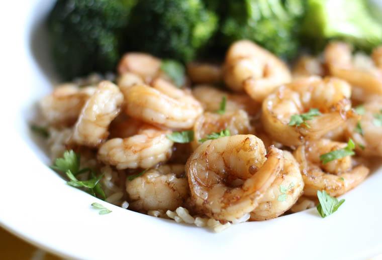 Honey Garlic Shrimp-7