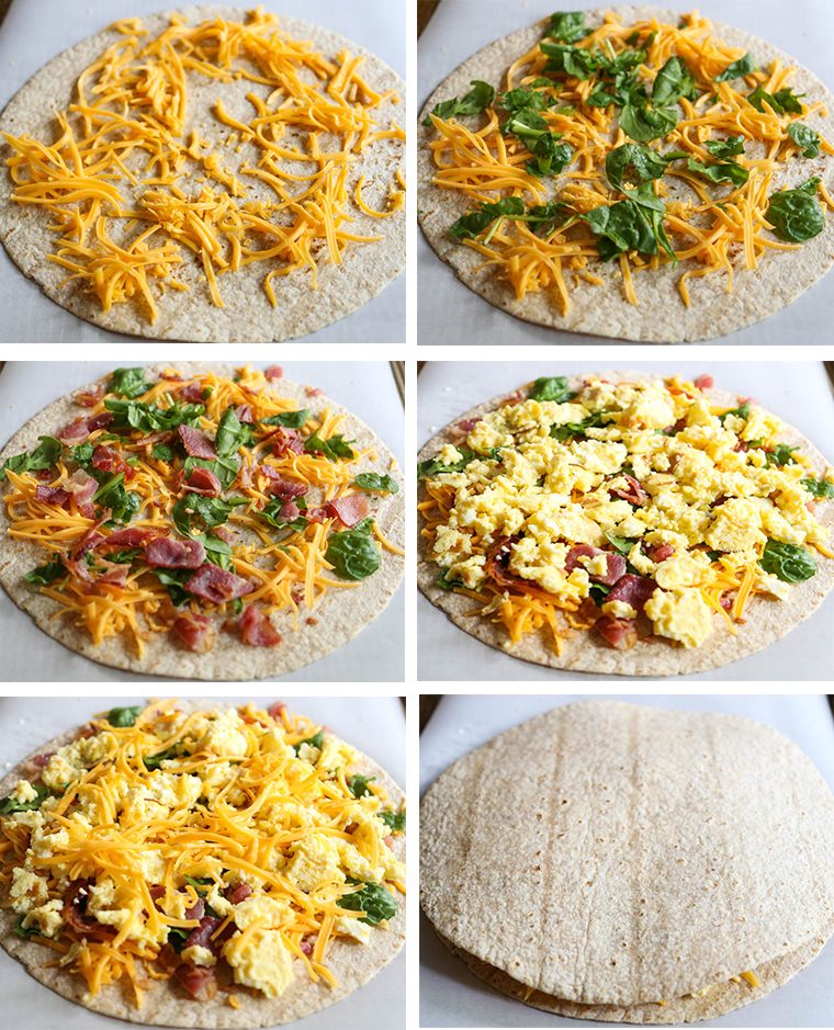 Freezer Friendly, Farm Fresh Breakfast Quesadillas. A simple, kid-friendly, healthy breakfast idea that anyone can make. Kids love that they can be customized and love to help assemble them. Make lots and freeze them for later!