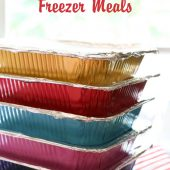 30+ Kid-Friendly Freezer Meals