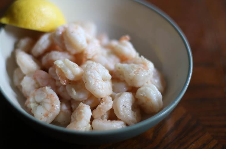 Garlic-Lemon Buttered Shrimp-4