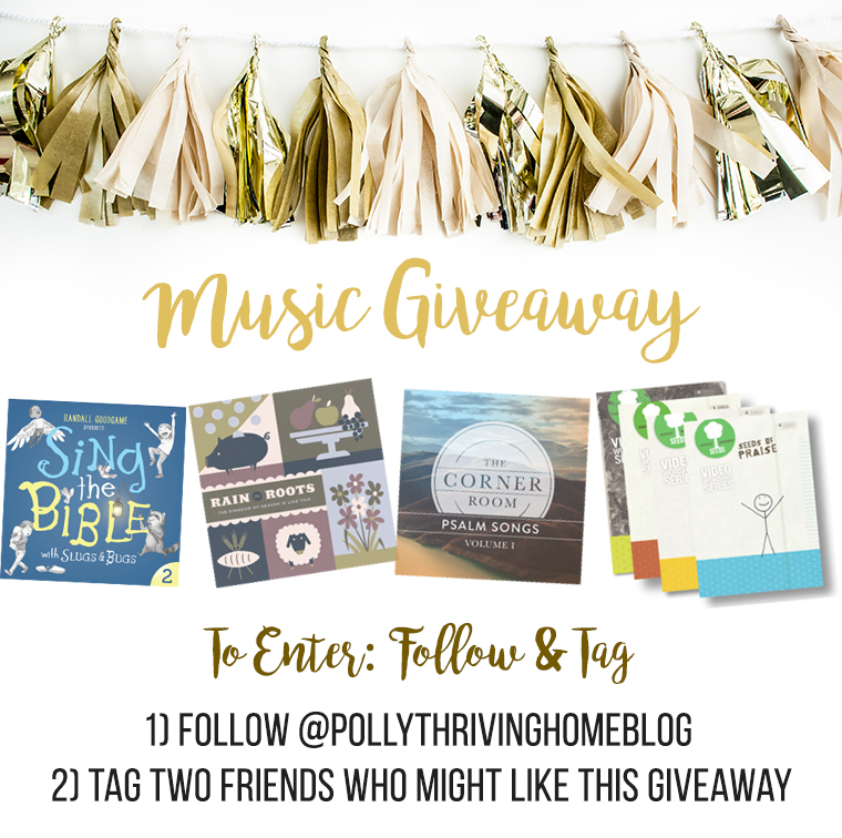 Music giveaway
