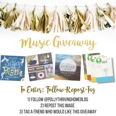Big Music Giveaway (on Instagram)