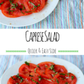 Caprese Salad: A Quick & Easy Summer Side