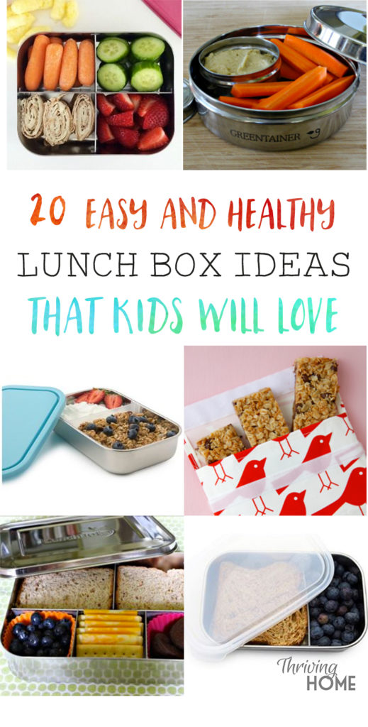 20 easy and healthy lunch box ideas that kids will love for Easy lunch ideas for kids at home