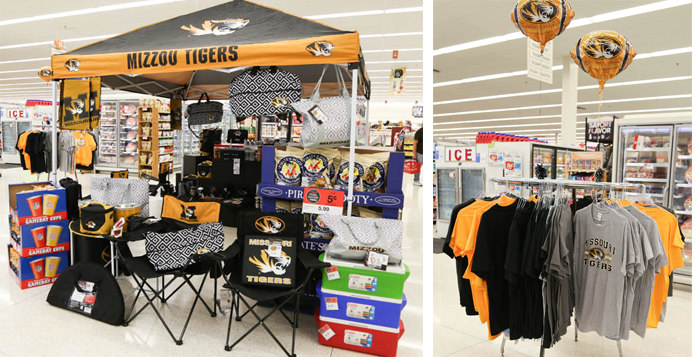 Tailgating made easy with Hy-Vee. In one stop get your hot and cold food, drinks and decor for your next tailgate.