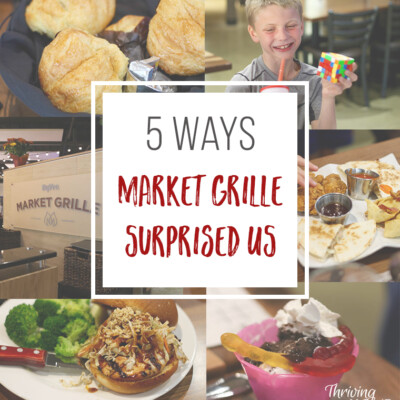 Hy-Vee's Market Grille restaurant pleasantly surprised us in 5 ways.