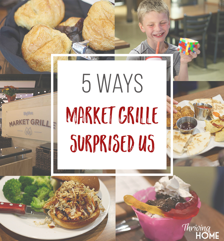 Hy-Vee's Market Grille restaurant pleasantly surprised us in 5 ways.