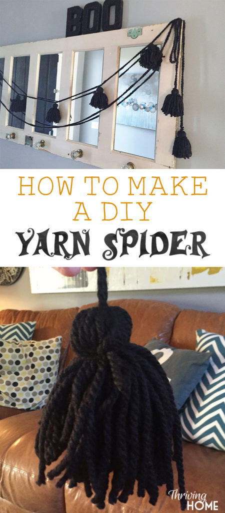 This cute Halloween decor project is an easy way to bring some spooky spirit to any room!