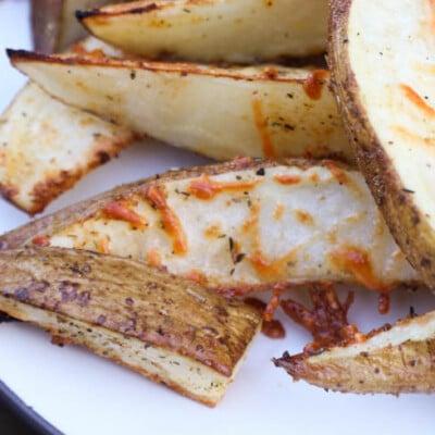 Crispy Parmesan Potato Wedges