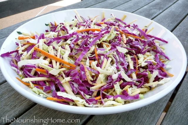 coleslaw-platter