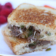 Freezer friendly ground beef philly cheesesteak sandwiches