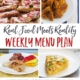 Real Food Menu Plan for Dec. 5-11: Easy and delicious meal ideas that the whole family will love. Posted every Friday at Thriving Home.