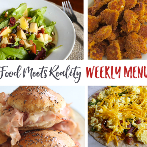 Real Food Menu Plan for January 16-22: Easy and delicious meal ideas that the whole family will love. Posted every Friday at Thriving Home.