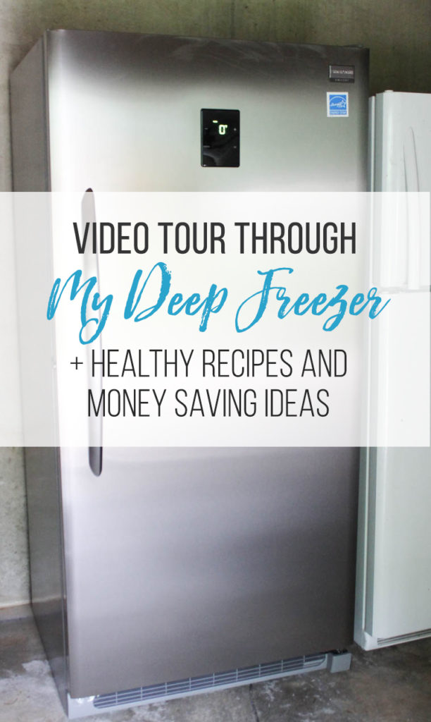 A video tour through Rachel's deep freezer, including tons of healthy freezer recipes and money-saving tips.