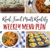 "Weekly Menu Plan + Top 5 ""Stock and Save"" Deals"