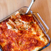 4 Cheese Baked Penne Pasta {Freezer Meal}