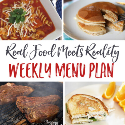 "Weekly Menu Plan + Top 5 ""Stock Up & Save"" Deals"