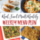 Real Food Menu Plan for March 20-26: Easy and delicious meal ideas that the whole family will love. Posted every Friday at Thriving Home.