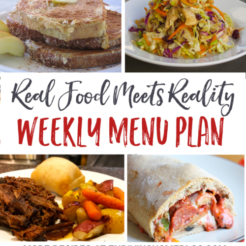Real Food Menu Plan for March 13-19: Easy and delicious meal ideas that the whole family will love. Posted every Friday at Thriving Home.