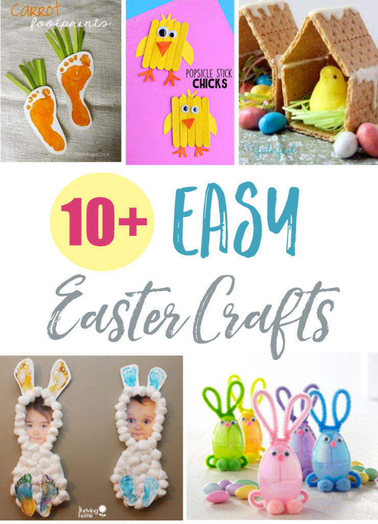 10 Easy Easter Crafts Thriving Home