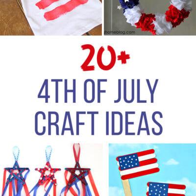 20+ Fourth of July Craft Ideas