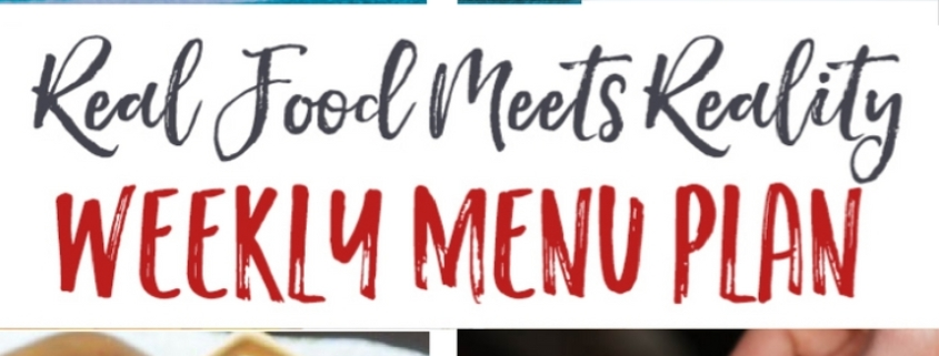 Real Food Menu Plan for April 10-16: Easy and delicious meal ideas that the whole family will love. Posted every Friday at Thriving Home.