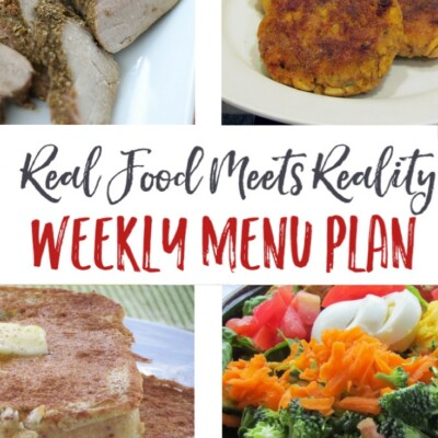 """Weekly Menu Plan + """"Stock Up and Save"""" Deals"""