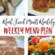 Real Food Menu Plan for April 17-23: Easy and delicious meal ideas that the whole family will love. Posted every Friday at Thriving Home.
