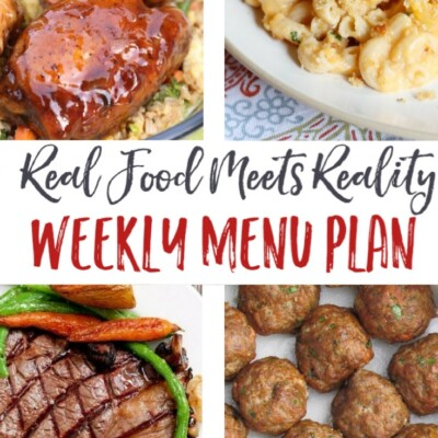 "Weekly Menu Plan + Top 5 ""Stock Up and Save"" Deals"