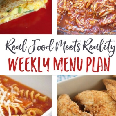 "Weekly Menu Plan + Top 5 ""Stock Up and Save"""