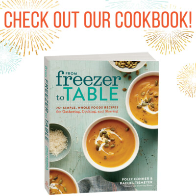 Time to Pre-Order Our Cookbook!! (And Snag Free Gifts!)
