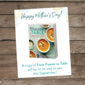 Last Minute Mother's Day Idea (+ Free Printable Card)