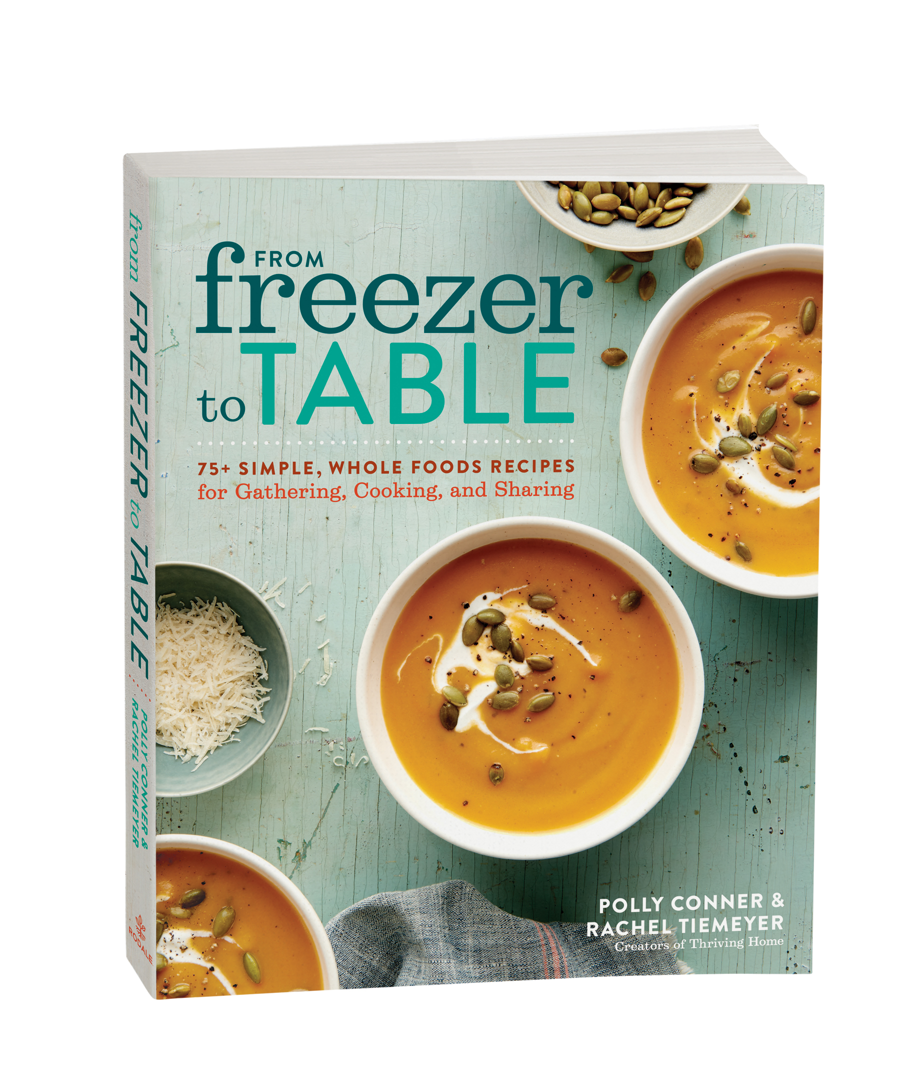 Learn to prepare delicious, healthy, stress-free meals for the family that go from freezer to table in no time!