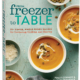 cookbook with soup freezer meal on front