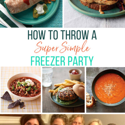 A Super Simple Summer Freezer Party: The Answer to Our Junk-Eating Slump