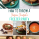 Throwing a Freezer Party with friends is a simple way to stock your freezer with healthy, homemade meals and enjoy a night out with friends. Here's how to pull it off.