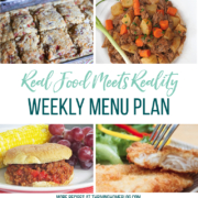 Real Food Menu Plan for July 24-July 30: EReal Food Menu Plan for July 17-July 23: Easy and delicious meal ideas that the whole family will love. Posted every Friday at Thriving Home. Easy and delicious meal ideas that the whole family will love. Posted every Friday at Thriving Home.