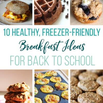 10 Healthy, Freezer-Friendly Breakfast Ideas for Back To School