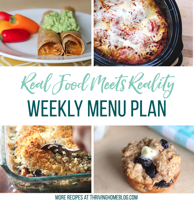 Real Food Menu Plan for August 7 to August 13 : Real Food Menu Plan for August 21 -August 27: Easy and delicious meal ideas that the whole family will love. Posted every Friday at Thriving Home. Easy and delicious meal ideas that the whole family will love. Posted every Friday at Thriving Home.