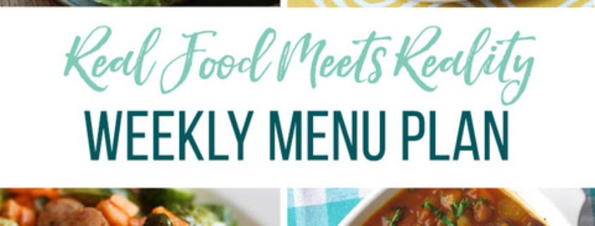 Real Food Menu Plan for September 29 to October 5: Easy and delicious meal ideas that the whole family will love. Posted every Friday at Thriving Home. Easy and delicious meal ideas that the whole family will love. Posted every Friday at Thriving Home.