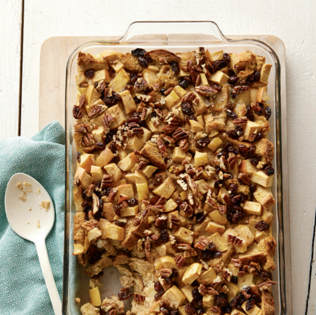 """Apple Raisin Baked French Toast from """"From Freezer to Table"""" Cookbook (copyrighted)"""