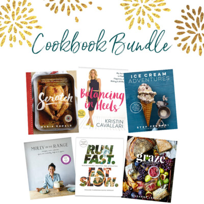 Celebration Giveaway #2: Cookbook Bundle {EXPIRED}