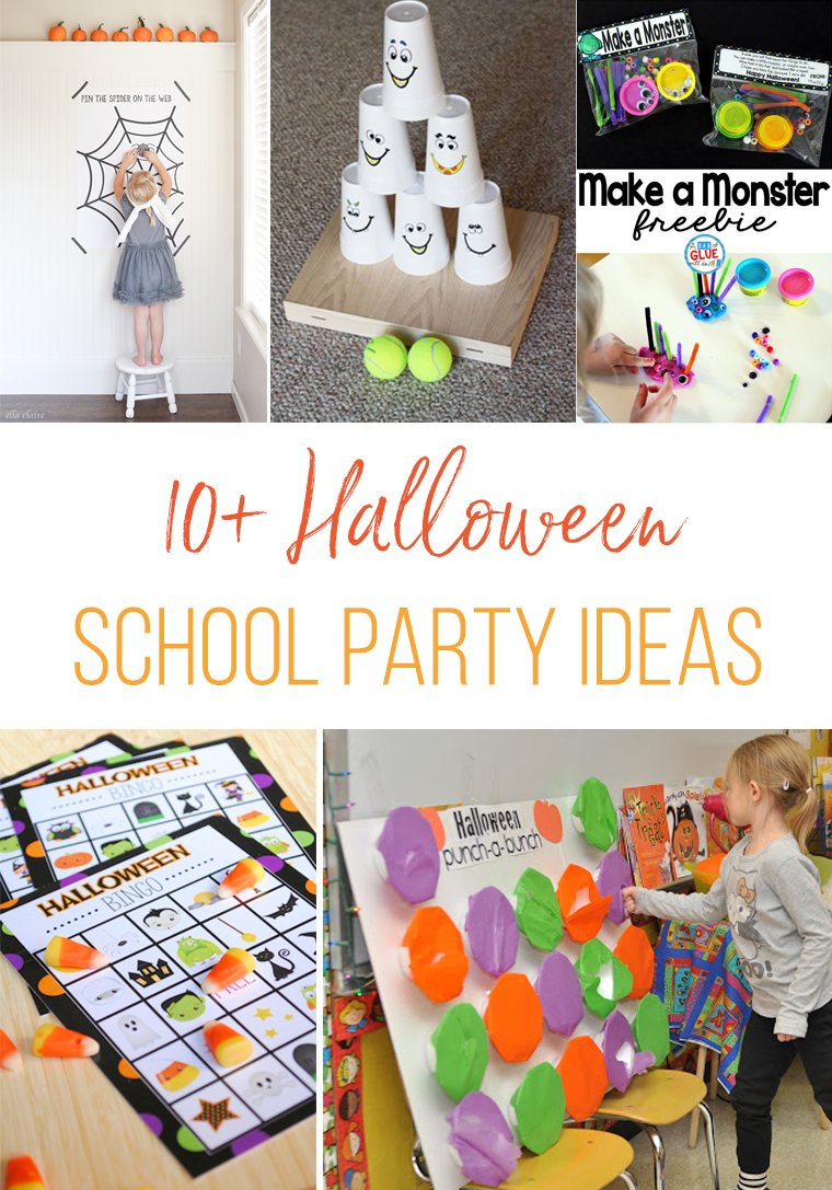 10+ Halloween School Party Ideas | Thriving Home