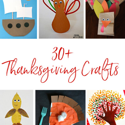 30+ Thanksgiving Crafts