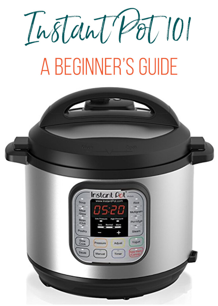 A great resource page for Instant Pot beginners! This post answers basic questions you may be asking about the newest craze, The Instant Pot.