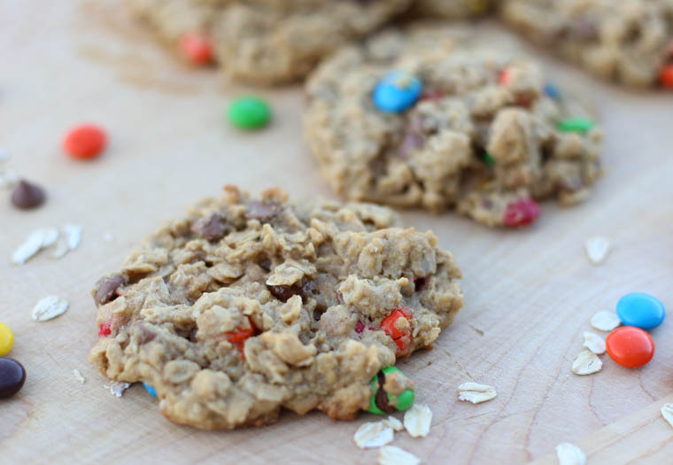 This easy Monster Cookie recipe is a HUGE win. You'll find that this cookie is easy to make and your people will gobble them up. Monster cookies for the win!